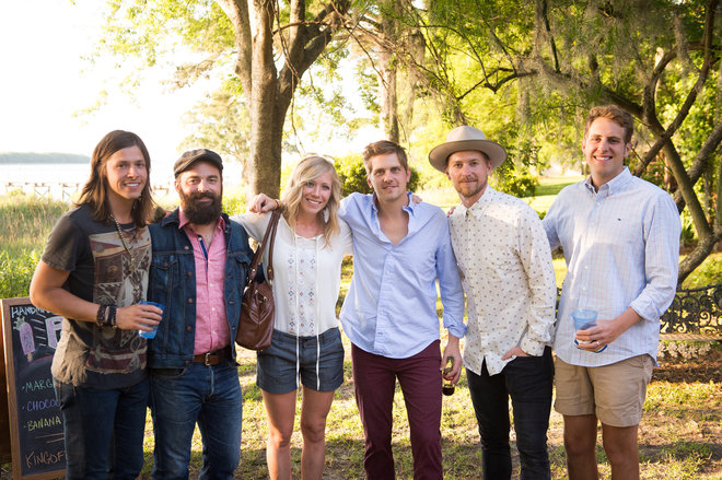 NEEDTOBREATHE is joined by Drew & Ellie Holcomb and Ben Rector at the 2014 NEEDTOBREATHE Classic. Photo by Paul Kim.