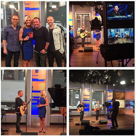 Chris Tomlin Visits Fox & Friends