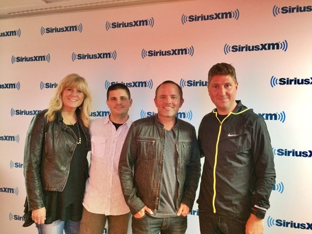 Pictured L-R: Shelley Giglio, Chief Strategist,       sixstepsrecords; Al Skop SiriusXM Director of Programming, The Message; Chris Tomlin; Mike McCloskey, sixstepsrecords Artist Development & Management