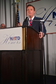 Michael W. Smith speaks at NATD Gala