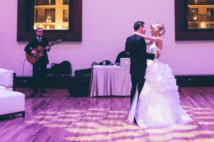 "Steven Curtis Chapman performs song ""Cinderella"" during the Father-Daughter dance, Photo Credit: David Molnar"