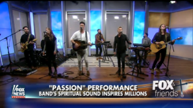 "Passion performs current single ""Remember"" on FOX & Friends"