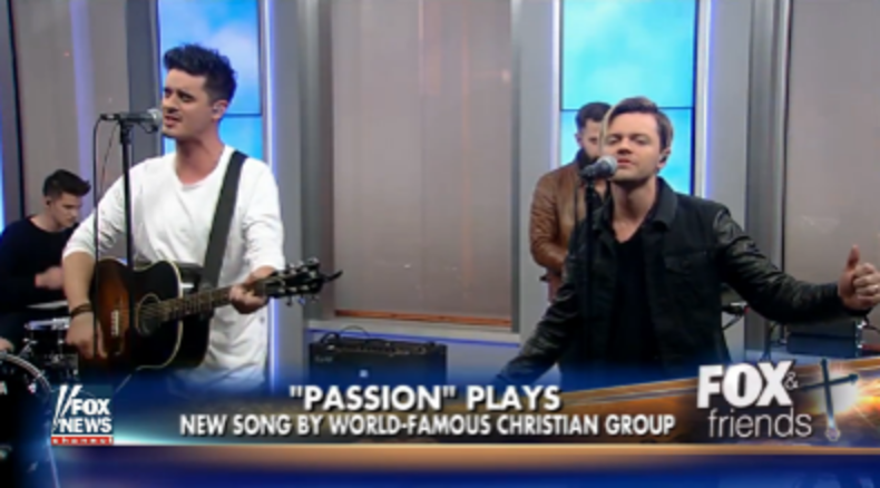 "Passion performs ""My Victory"" on FOX & Friends"