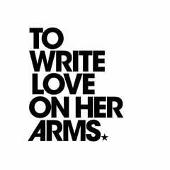 To Write Love on Her Arms aims to present hope for people struggling with addiction, depression, self-injury and thoughts of suicide while also investing in treatment and recovery. To Write Love on Her Arms connects individuals to treatment centers, websites, books and support groups. Merchandise for To Write Love On Her Arms will be available in The Purpose Hotel Store.