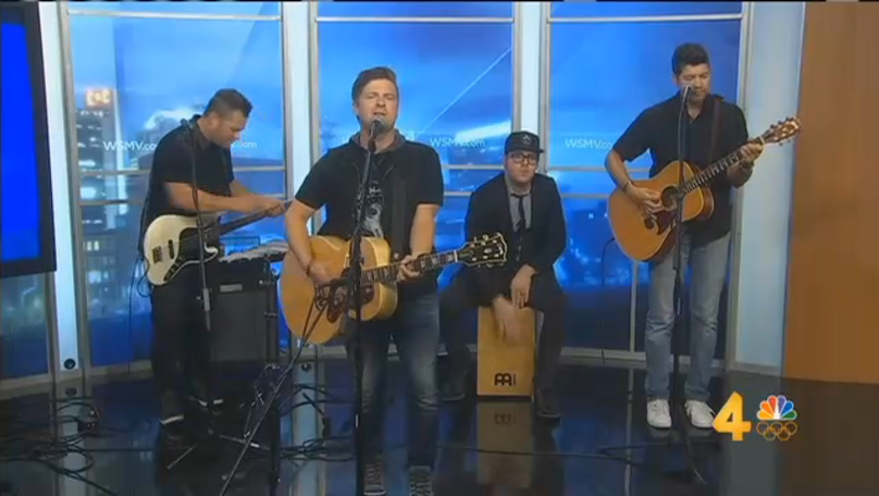 The Afters Perform at WSMV Nashville