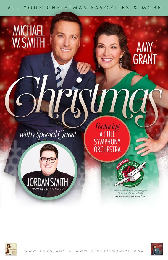 Over 130,000 Celebrate Christmas With Amy Grant, Michael W. Smith ...