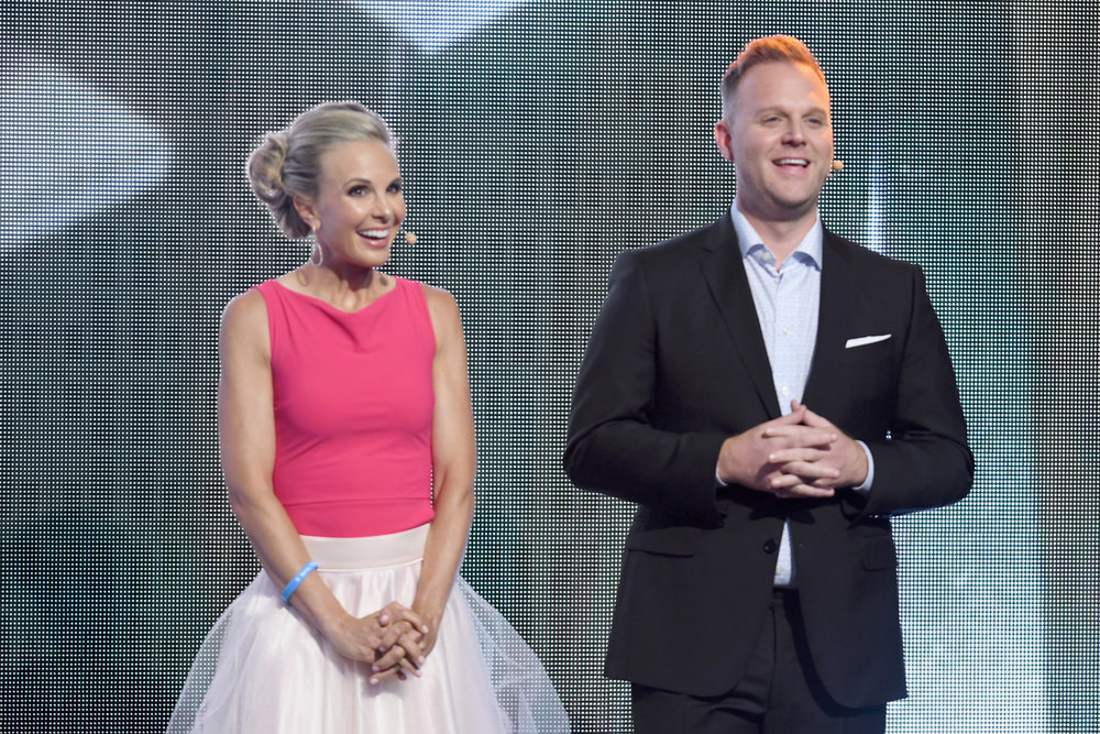 Elisabeth Hasselbeck and Matthew West, Credit: Jason Davis/Getty Images for K-LOVE