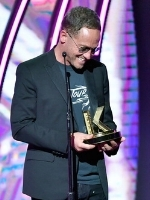 TobyMac, winner of Male Artist of the Year. Credit: Getty Images for K-LOVE