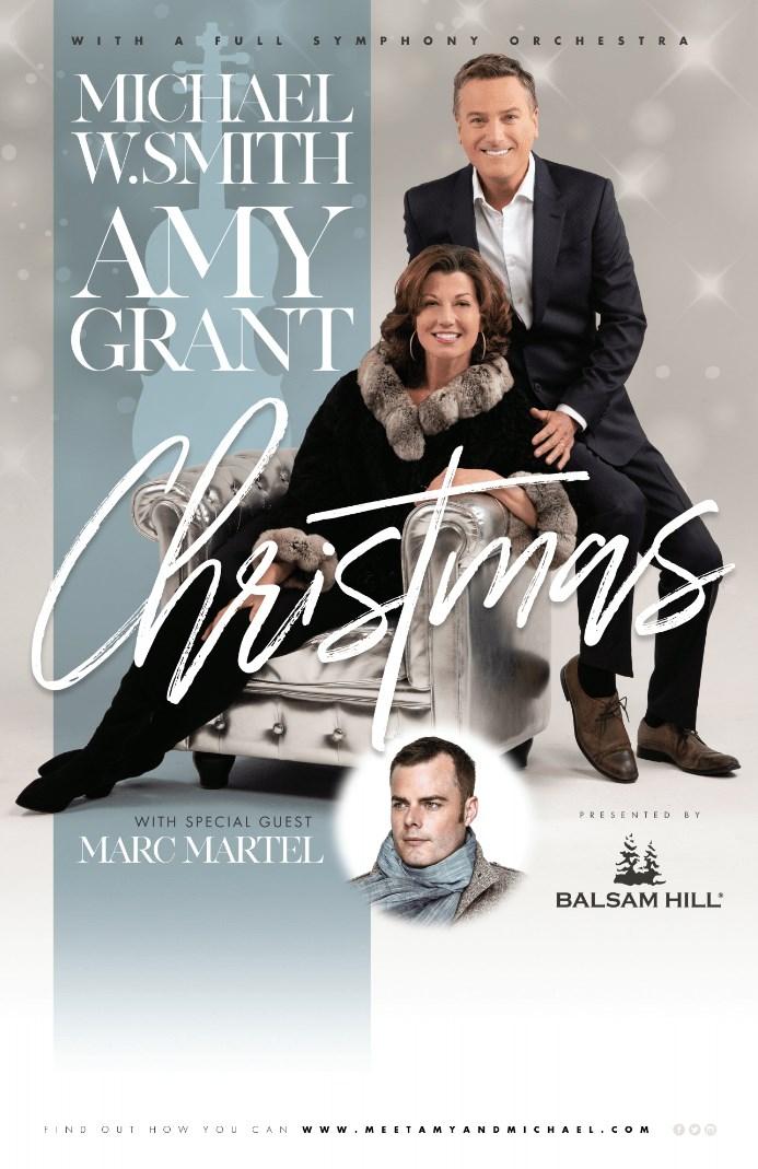 Amy Grant New Christmas Album.Amy Grant Michael W Smith Reunite For Seven Christmas