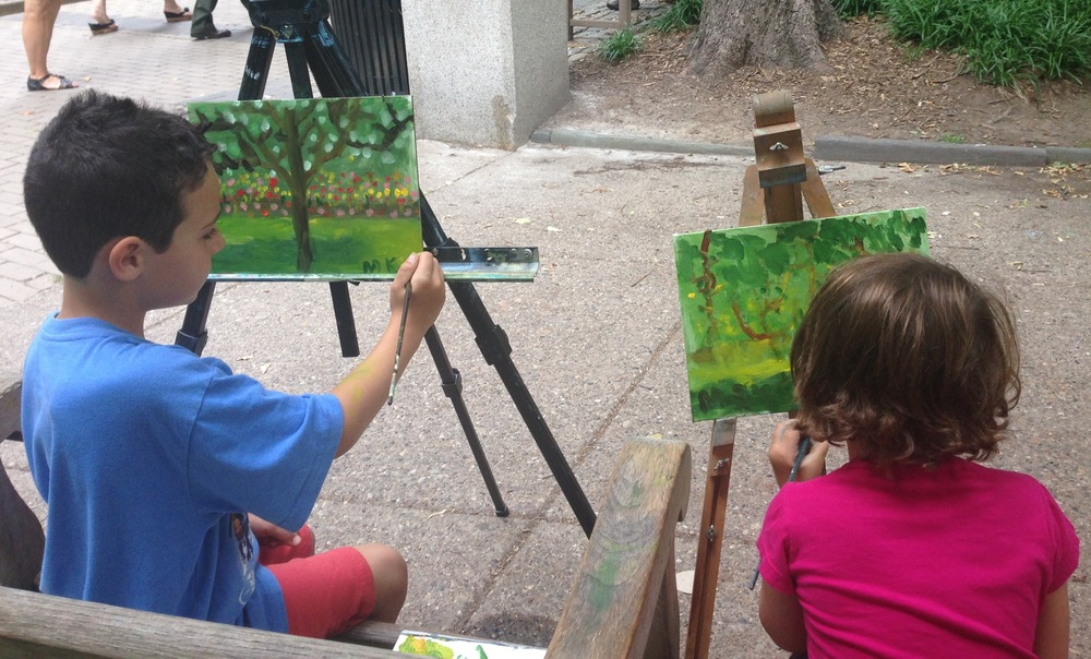 Plein Air Summer Classes