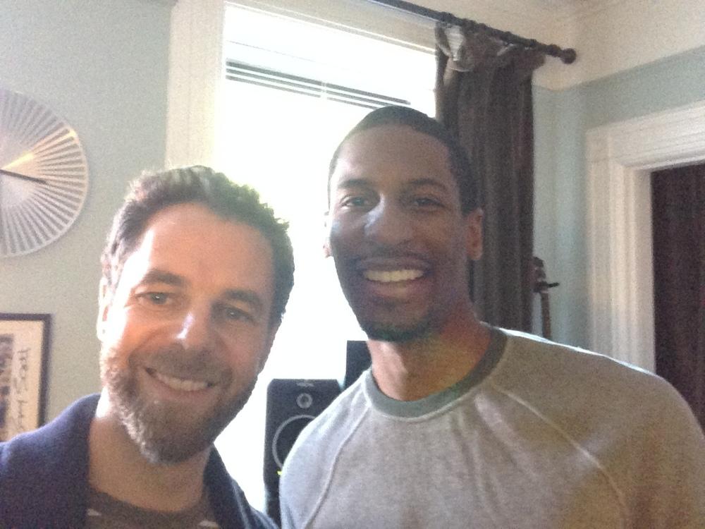 Leo Sidran and Jon Batiste in Brooklyn, 2014