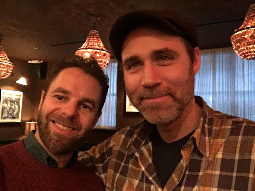 Leo and Benji in December, 2016.