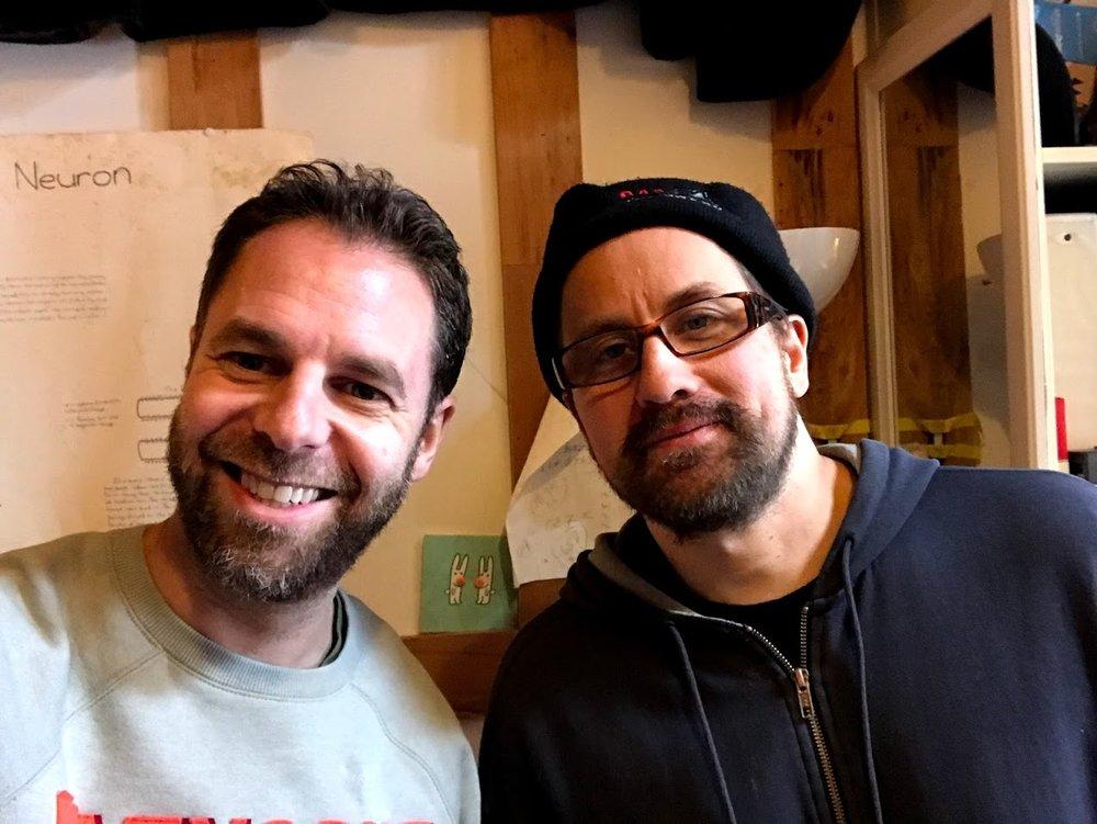 With Brendan B. Brown, Long Island, March 2018