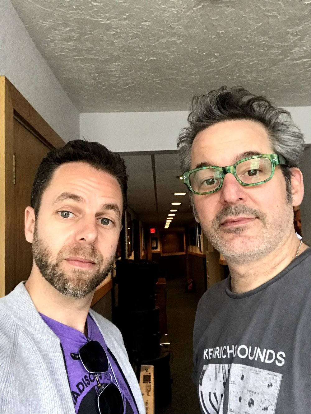 With John Fields, Minneapolis, August 2018