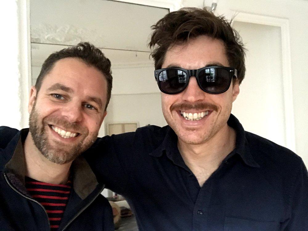 With Joe Dart, Paris, November 2018