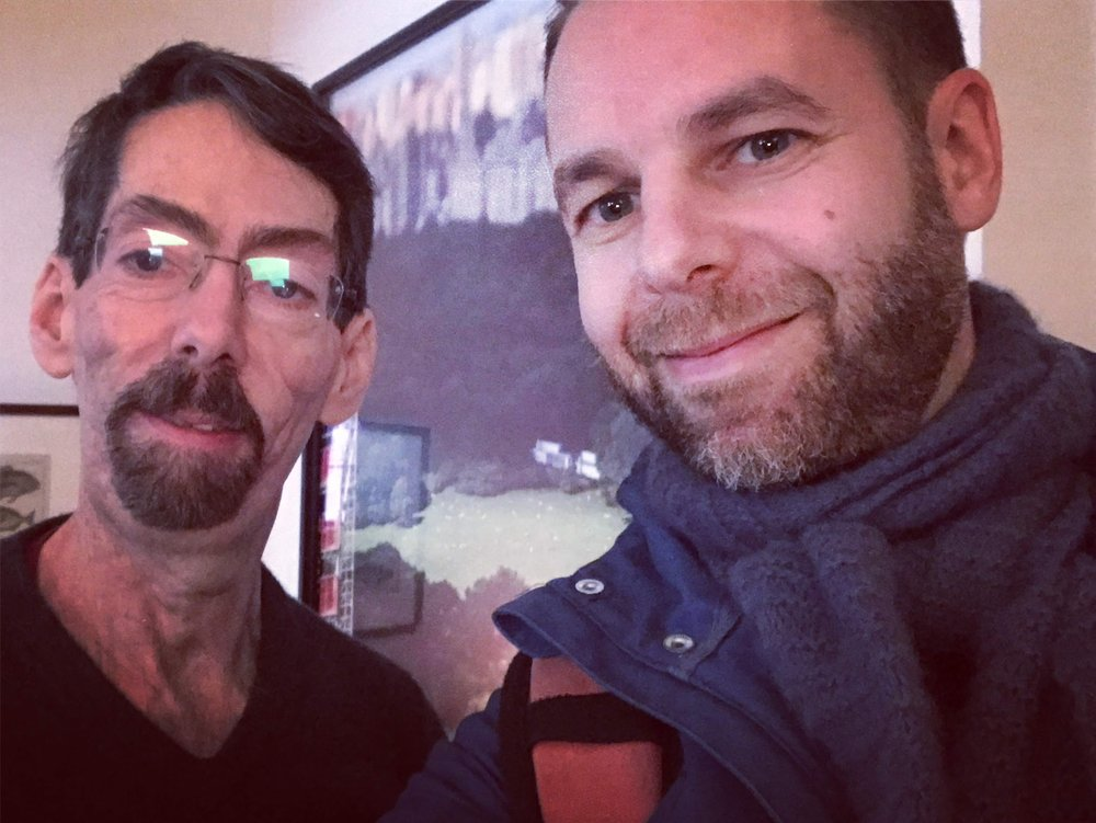 With Fred Hersch, New York, December 2018