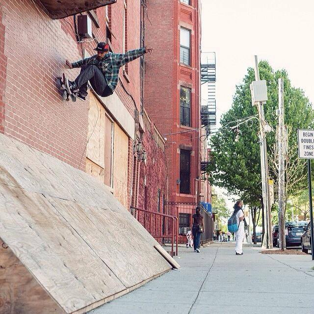 This was in Bedford Stuyvesant, Brooklyn and was gnarly as fuck. From the  Expedition One Instagram . 2013.