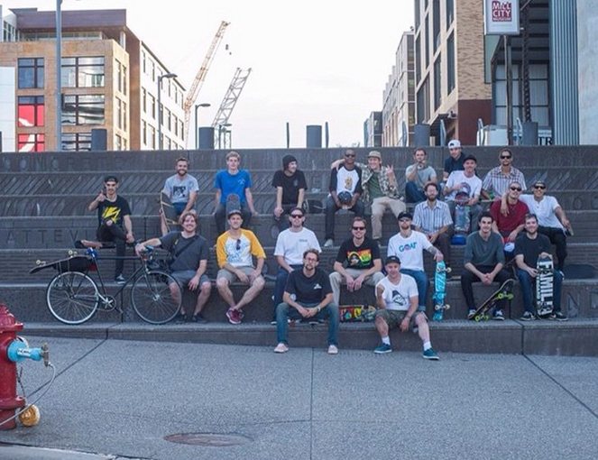 Another crew shot. Photo:  Dan Huseby