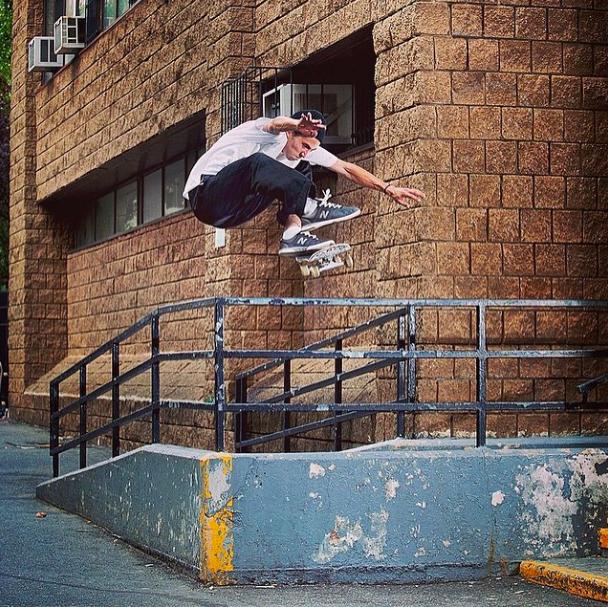 Jordan Trahan, Kickflip. Photo:  Eric Palozzolo