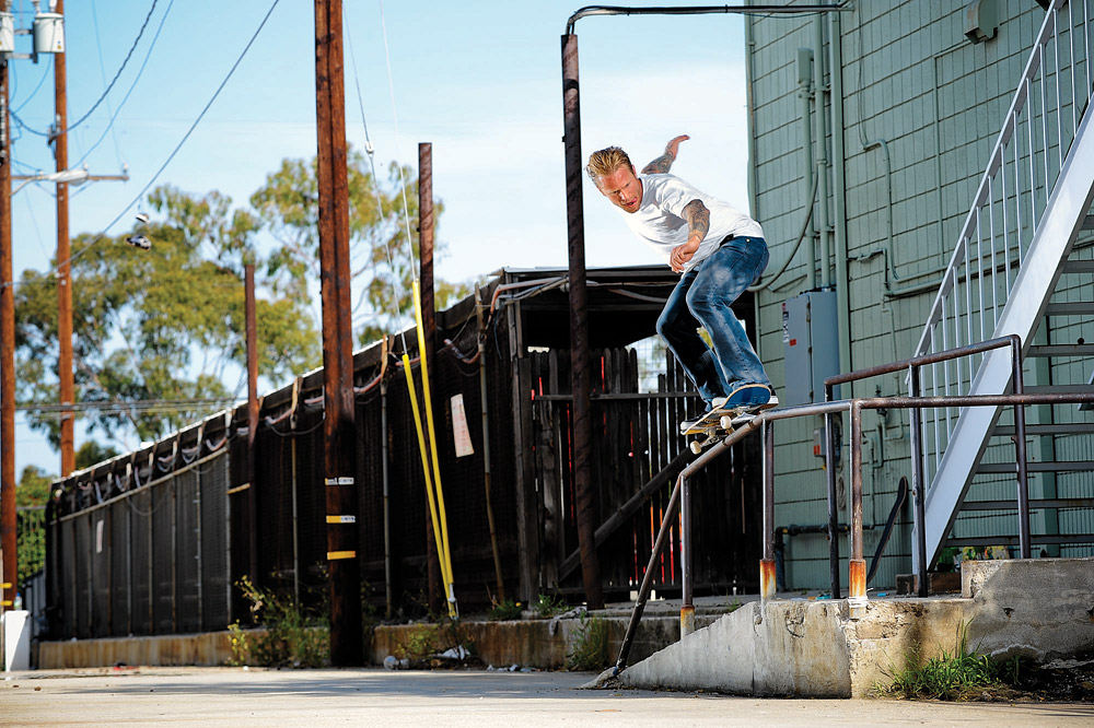Good slappy spots are hard to come buy, unless you're Anthony Van Engelen. Alien Workshop, 2012.