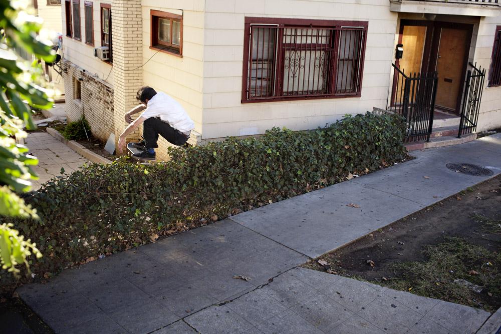 Don't you love it when dudes make LA look raw? Bump to bush. Photo:  Chris Whitaker