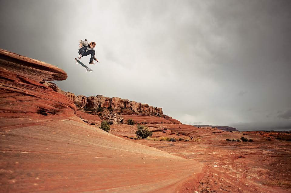 "AARON ""JAWS"" HOMOKI ~ UTAH, U.S.A.Trick:Kickflip.Photo by Jonathan Mehring."