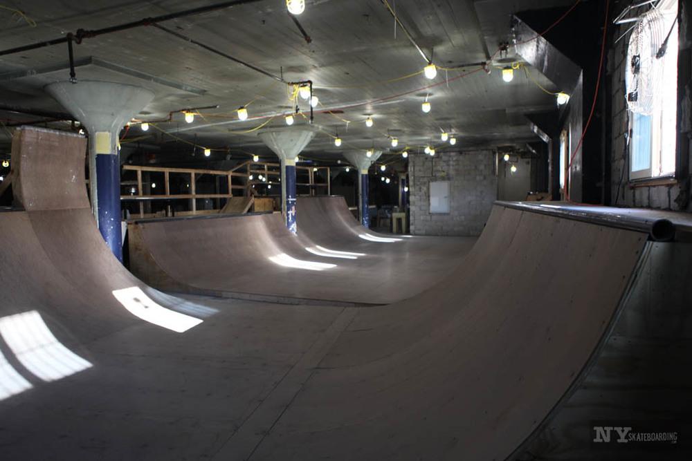 It can be done. Long Island City DIY spot.Photo:  NY Skateboarding