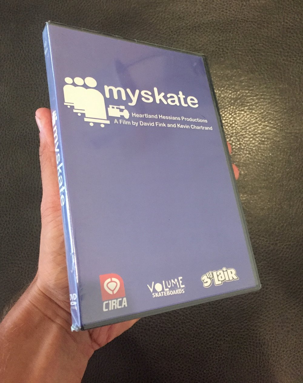 An original copy of the video, still sealed in 2017.