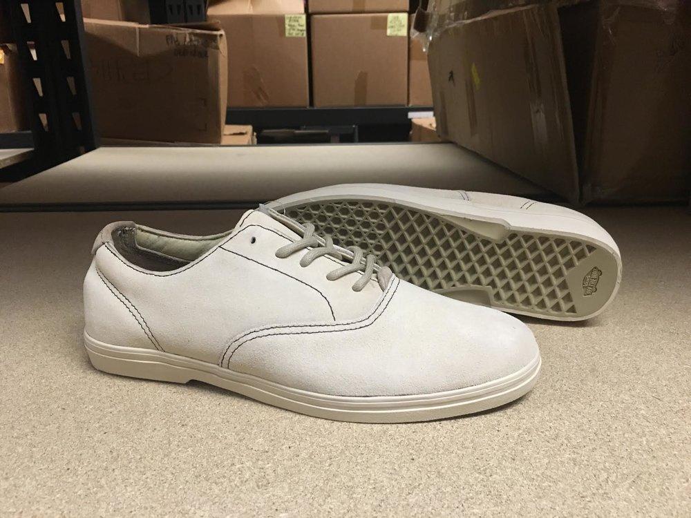 Prototype of the unreleased Alex Olson pro shoe.