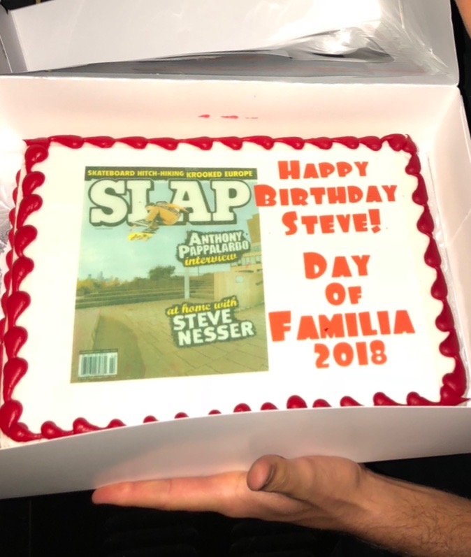 Pappa Steve's bday cake