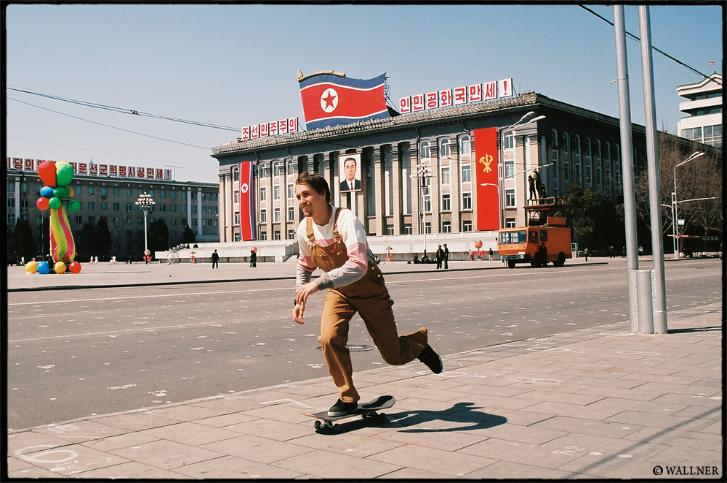 Visual proof that North Korea has been skated. Kirill Korobov pushing.