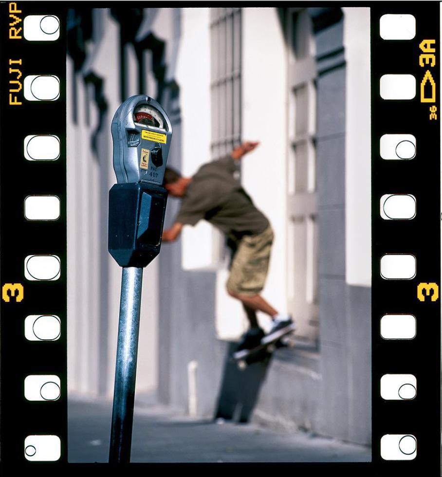 Scott Johnston, backside smith grid. 1997.