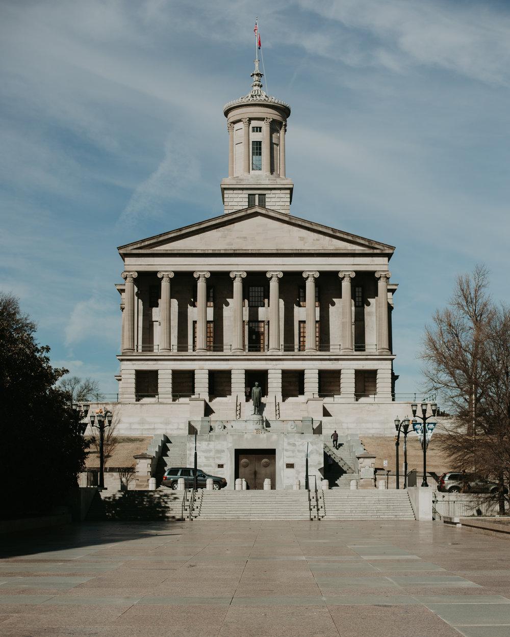 Legislative Plaza. Nashville, TN.