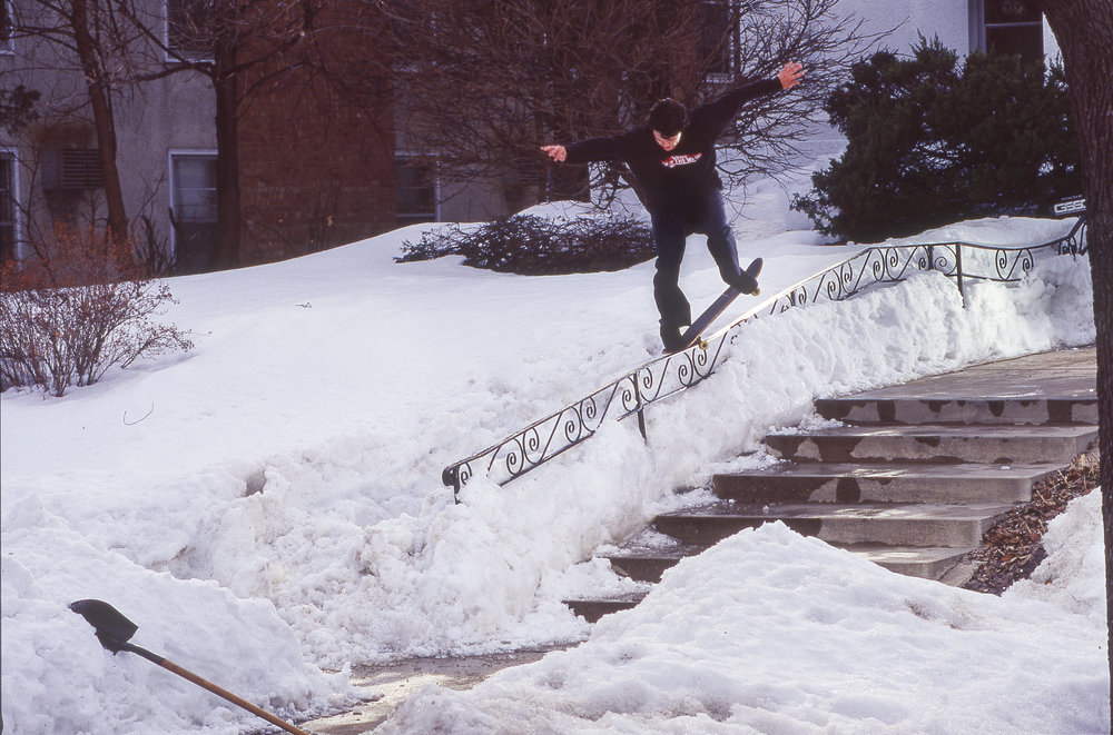 Shoveling out spots is so Minnesotan.  Seth McCallum  crooks.