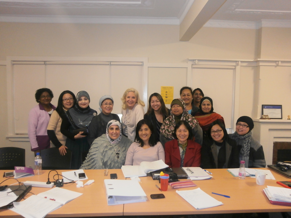 The ladies in the picture attended a course on using Twitter for Business taught by Stephenie Rodriguez in Australia