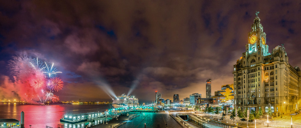 Celebrity Infinity in Liverpool