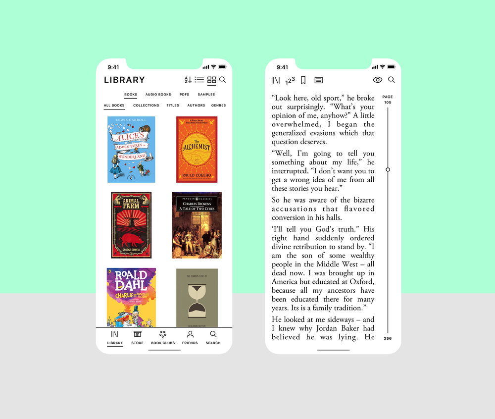 iBooks_iPhoneX_Library and Pages.jpg