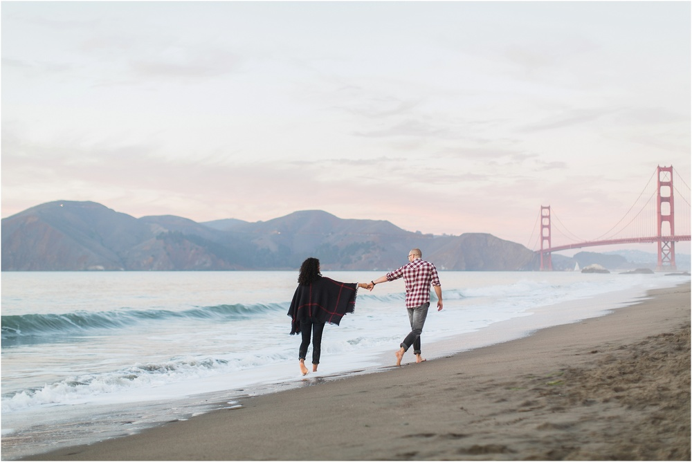 Blueberryphotography.com | San Francisco Based Wedding & Lifestyle Photographer | Engagement Session | Baker Beach | Lands End | Potrero Hill
