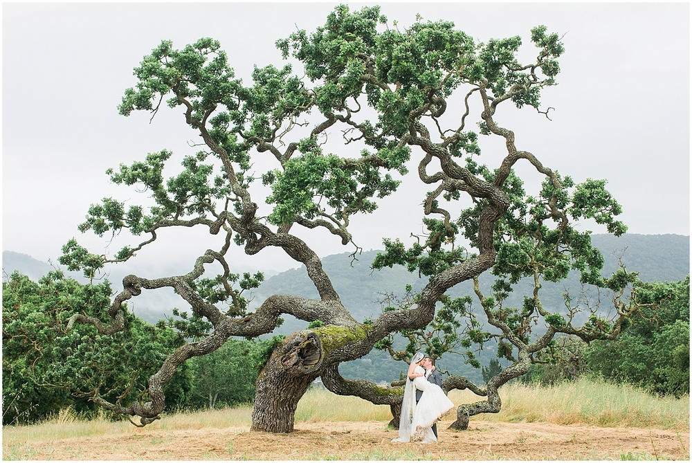 It's been a little over a month since I photographed this gem of a wedding at Holman Ranch in Carmel Valley and I can still feel the high the day gave me! Mahsa and Blake, will forever go down as one of my all time favorite couples to work with, and once you read about their special day, you'll understand why!   Mahsa and Blake live in Colorado so I wasn't able to meet them in person until a week before their wedding day. Luckily, we hit it off immediately and when I saw the way the two interacted with each other, I knew it was going to be an incredible wedding weekend. The weather, on the other hand, had other plans.   My team and I arrived at the ranch under a dark grey sky. It was forecasted to rain all day which made me worried that I may be walking in to meet an unhappy wedding party. I was pleasantly surprised by everyone's upbeat attitude and their excitement for the day was electric, dark skies be damned. Mahsa and Blake knew that their marriage would make even the stormiest day bright and warm.   We also have Audrey, wedding planner extraordinaire from  Engaged and Inspired  to thank for seamlessly coordinating the day. Her calming presence and preparedness for the day allowed the couple to still hold their ceremony on the outside lawn.  Our hearts melted when we saw Blake break down into tears as he saw his beautiful wife to be walking down the aisle. You could tell that everything else melted away when they set eyes on each other. Their ceremony was beautiful and we even had a quick break from the rain to take some portraits before it began pouring again. Mahsa was such a trooper, she didn't think twice about her dress getting dirty because she knew that we wanted photos to commemorate the day.   Their reception, which was also supposed to be held outdoors, was transferred into the barn, thanks again to Audrey's quick thinking! We spent the nights with the couple and their incredibly supportive group of friends and family. We were overwhelmed by the love for the couple and light hearted nature of the group.   I truly love my job and it is because of couples like Mahsa and Blake, who put their complete trust in me to ensure we didn't miss a single, joyous moment. It was a mind blowingly incredible day and I wish it is one I could relive over and over again. Congratulations Mahsa and Blake! I miss you two already!