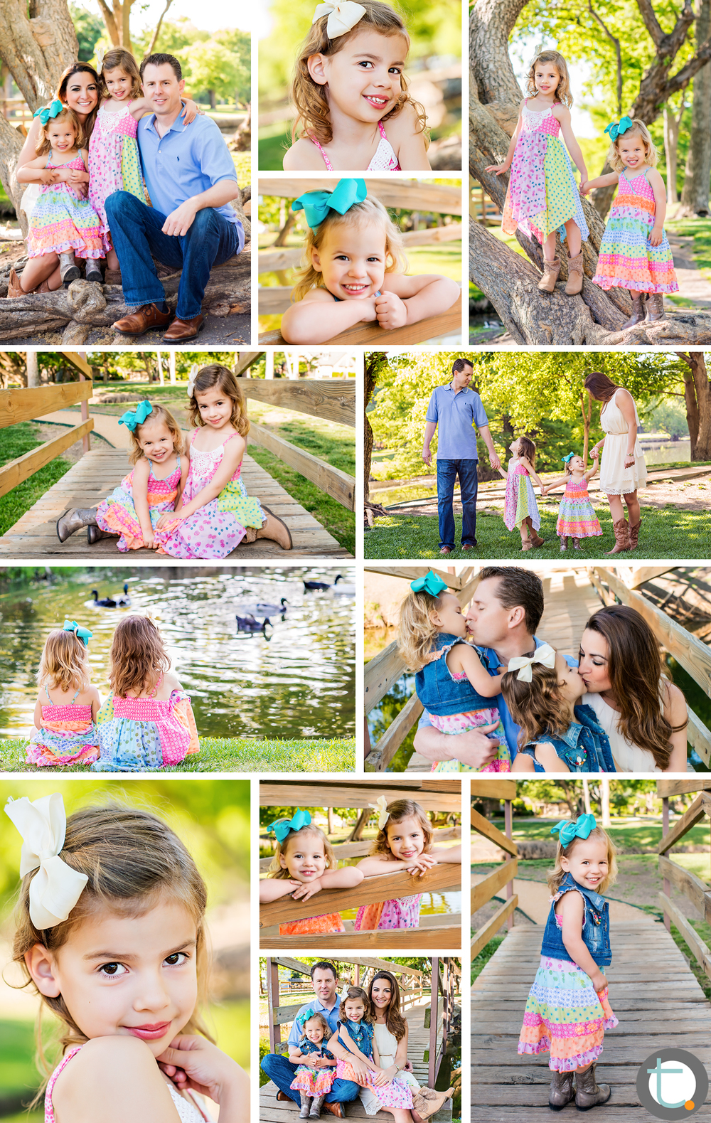 park_dallas_pond_ducks_girls_kids_family_portrait_morning_sunlight_tracyallynphotography