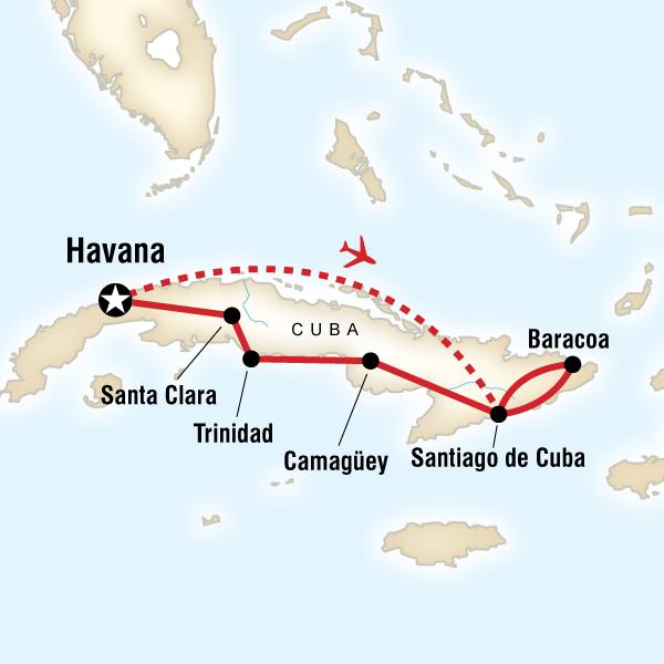 Havana to Havana - 15 Days - Starting at $2499