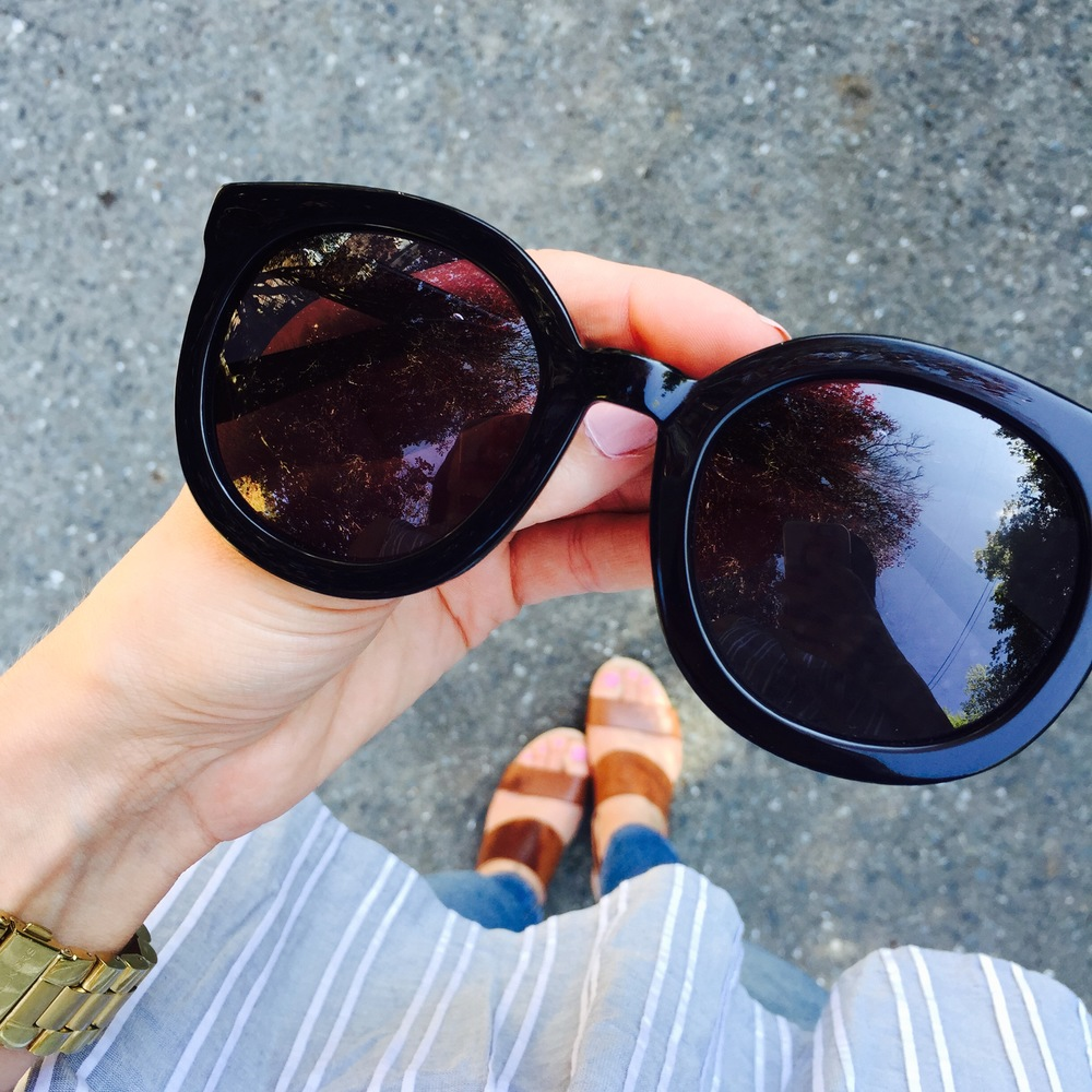 4b9587e10f82 I've done a post about sunglasses before and I mentioned that I haven't  splurged on many pairs. I have my one trusted pair of Ray-Ban's that are my  go-to's ...