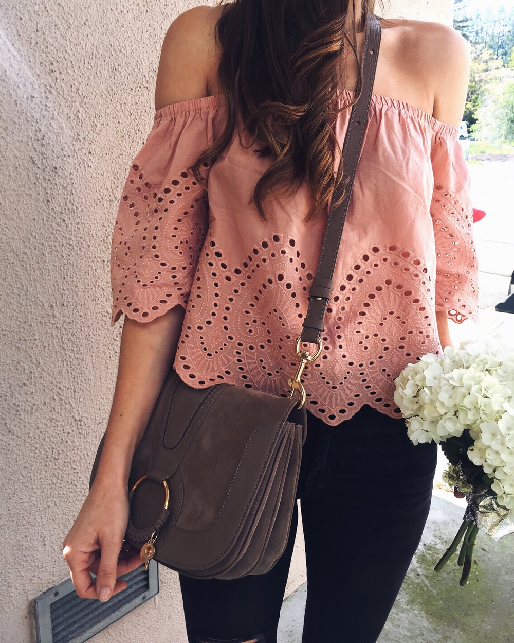 Abercrombie Top  |  See by Chloe Bag