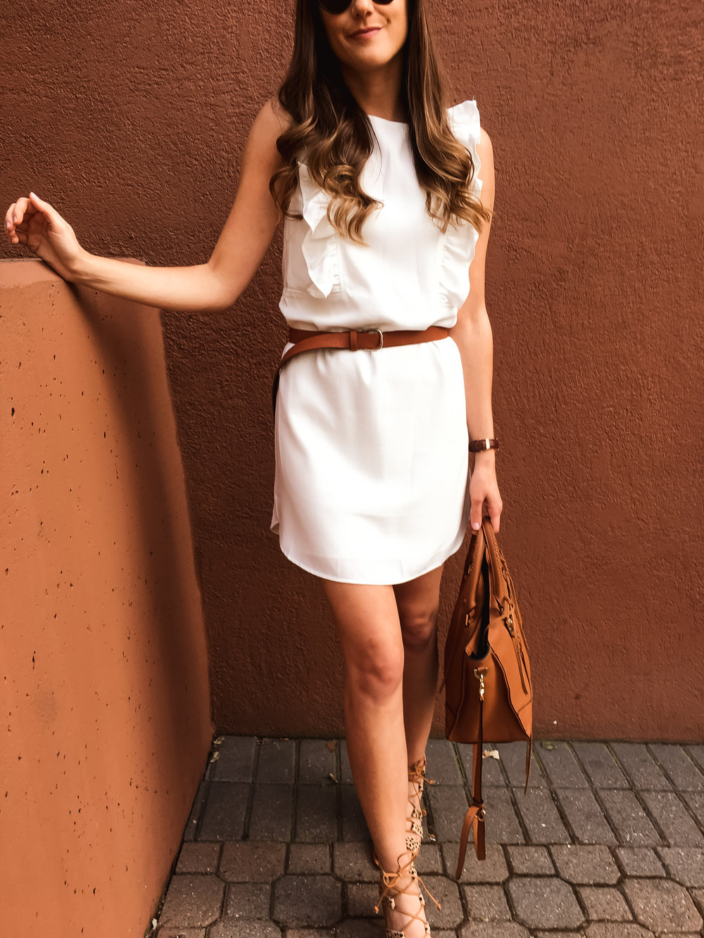 Little White Dress for spring