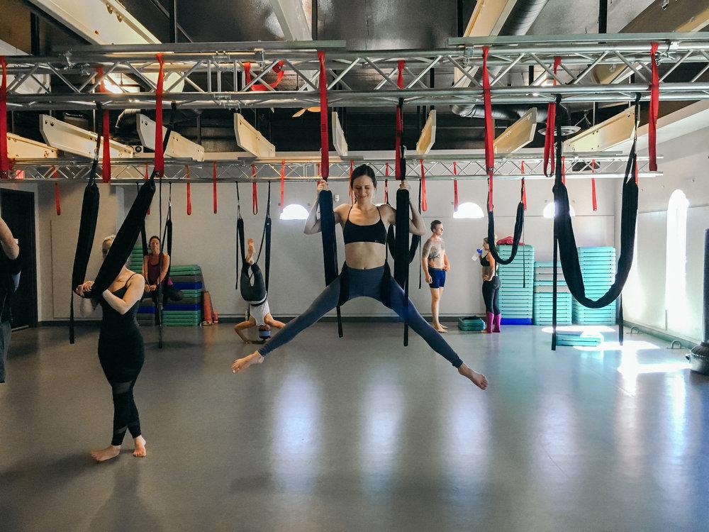 TruFusion Aerial Yoga