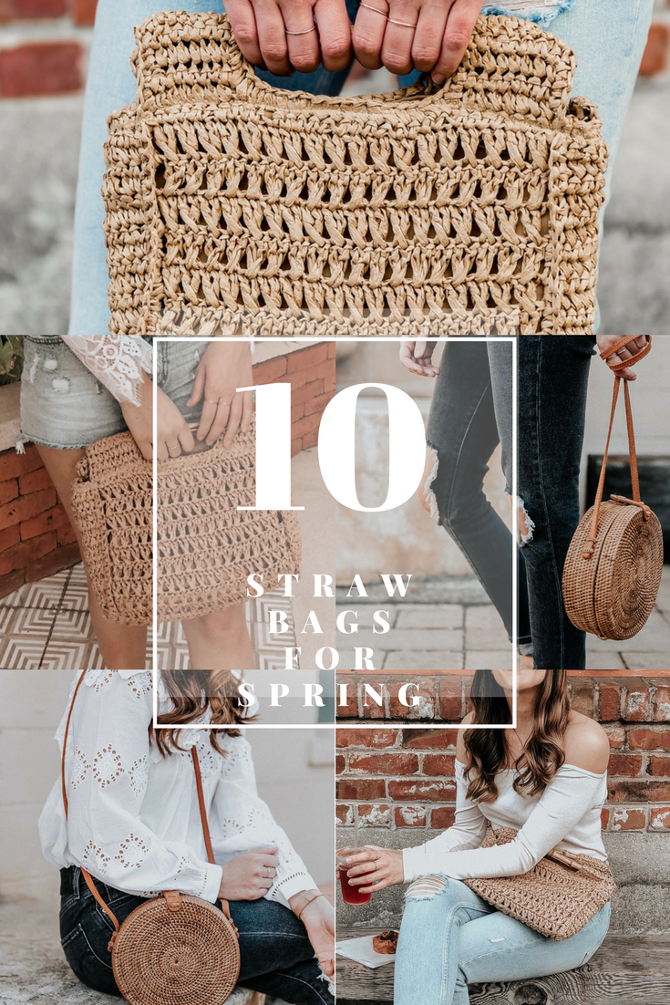 10 Straw Bags On Trend for Spring