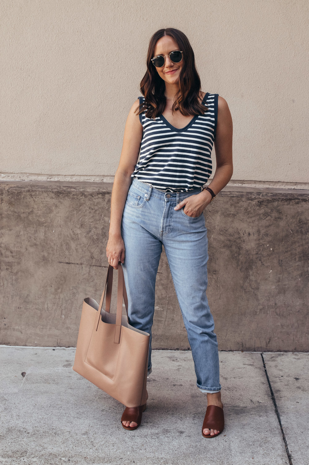 everlane denim