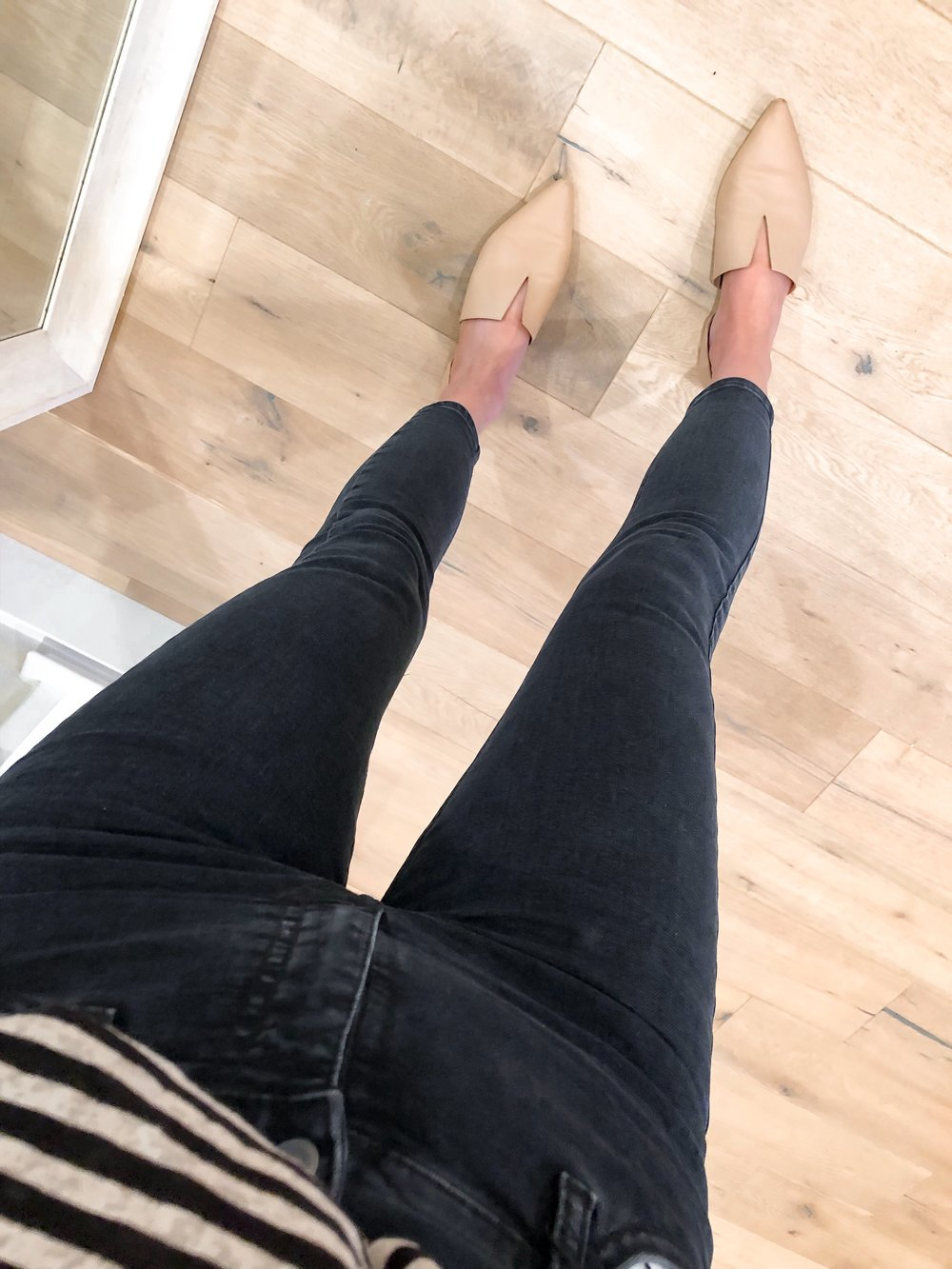 Topshop Moto Jeans in Dark Blue