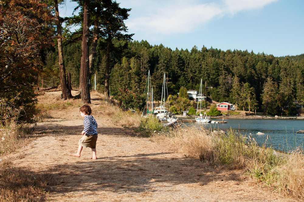 Pender Island beaches - Amber Briglio Photography