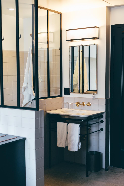 Ace hotel bathroom
